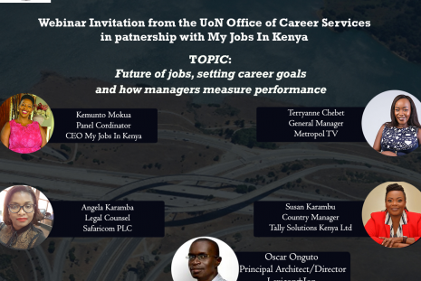 WEBINAR INVITATION WITH MY JOBS IN KENYA - WED MAY 27-3.00 -5.00 PM: Follow the link Event Password: UtNwm3qZ3g5